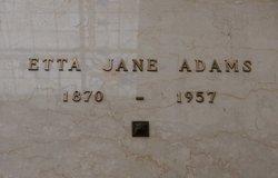 Etta Jane Adams
