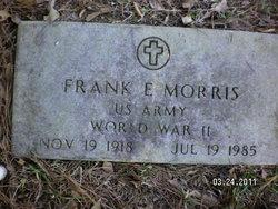 Frank E Morris