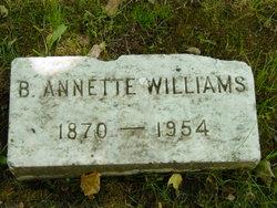 Birdie Annette Williams