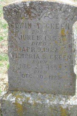 Victoria <i>Barter</i> Green