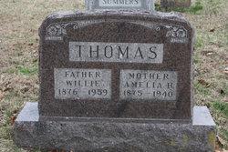 Amelia Belle <i>Claycomb</i> Thomas