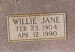 Willie Jane <i>Ware</i> Bray