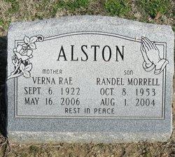 Verna Rae <i>Morrell</i> Alston