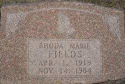 Rhoda Marie <i>Baird</i> Fields