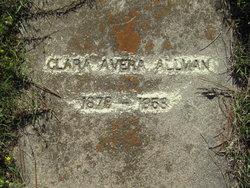 Clara <i>Avera</i> Allman