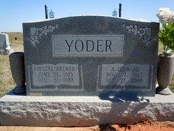 Pauline Yoder
