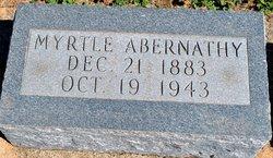 Beulah Myrtle Abernathy