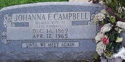 Johanna Francis <i>Johnson</i> Campbell