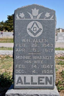 Dr William Henry W.H. Allen