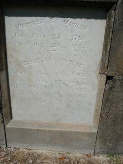 Paschal B Hamblen