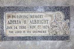 Adelia H. Albright