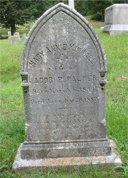 Mary Ann Annie <i>Kimball</i> Palmer