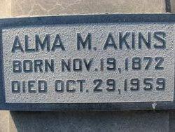 Alma M Akins