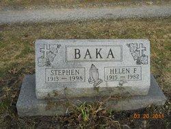Helen F <i>Sniezek</i> Baka