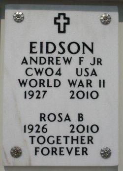Rosa B. Eidson