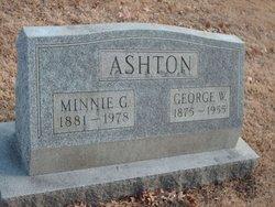 George W Ashton