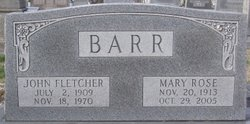 John Fletcher Barr
