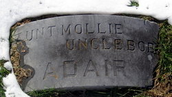Mary Lutilda Mollie <i>Johnson</i> Adair