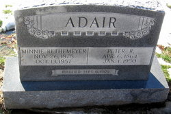 Minnie <i>Rethemeyer</i> Adair