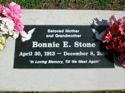 Bonnie E. <i>(Hilton)</i> Stone