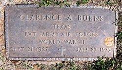 Clarence A. Burns