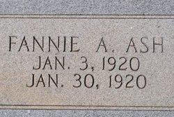 Fannie A Ash