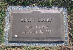 Boyce Leon Linder