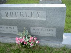 Mae <i>Burrow</i> Buckley