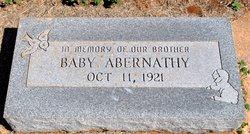 Baby boy Abernathy
