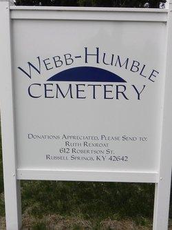 Webb-Humble Cemetery