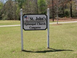 Saint Johns Episcopal Church Congaree Cemetery