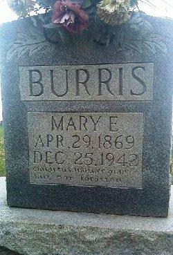 Mary Eliza <i>Tarter</i> Burris