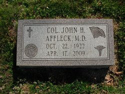 Dr John H. Jack Affleck