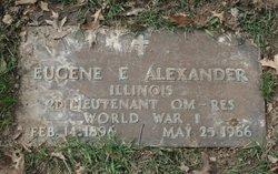 Eugene E Alexander