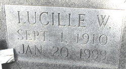 Lucille W. Booth