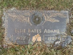 Elsie Rae <i>Reagle</i> Adams