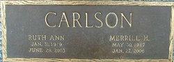 Ruth Ann <i>Sorensen</i> Carlson