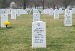 Sgt John R Simonetti