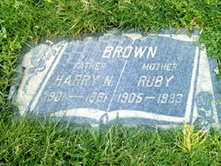 Ruby <i>Bailey</i> Brown