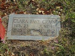 Clara Faye <i>Freeman</i> Crain