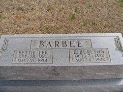 Edward Burlson Barbee
