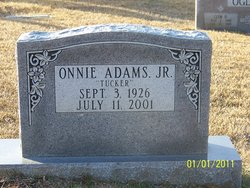 Onnie Tucker Adams, Jr