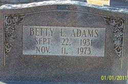 Betty L. Adams