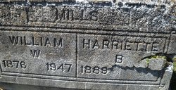 Harriette <i>Booth</i> Mills