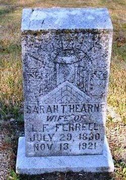 Sarah Sally <i>Hearne</i> Ferrell