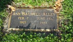 Ann <i>Bagwell</i> Alley