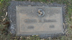 Minnie Myrtle <i>Young</i> Randall