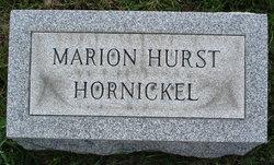 Marion Josephine <i>Hurst</i> Hornickel
