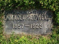 Emma <i>Deupree</i> Wells