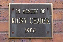 Richard F Ricky Chadek, III